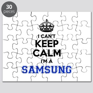 I can't keep calm Im SAMSUNG Puzzle