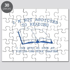 I'm Not Addicted To Reading Puzzle