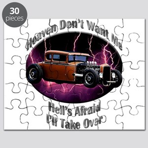 Ford Model A Hotrod Puzzle