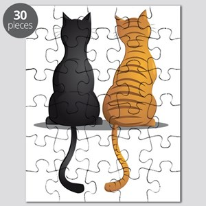 cat buddies Puzzle