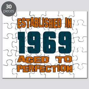 Established In 1969 Puzzle