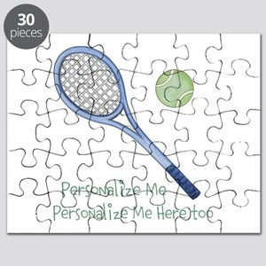 Personalized Tennis Puzzle