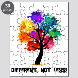 Different, not less! Puzzle