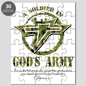 A Soldier in God's Army Puzzle