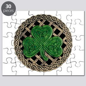 Shamrock And Celtic Knots Puzzle