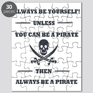 Dark Always Be Yourself Pirate Puzzle