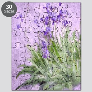 Purple Irises Puzzle