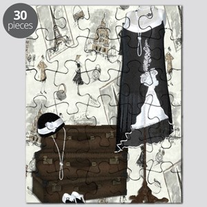 Gatsby in Paris Large Puzzle