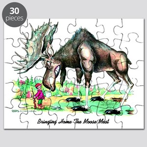 Bringing Home The Moose Meat Puzzle
