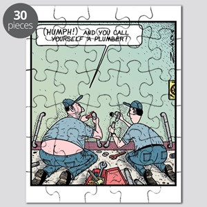Plumbers butt crack Puzzle