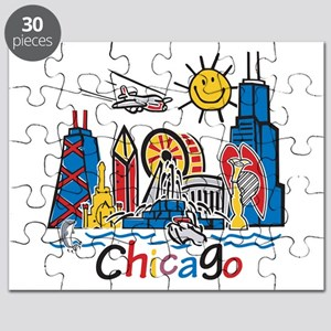 Chicago Kids Dark Puzzle