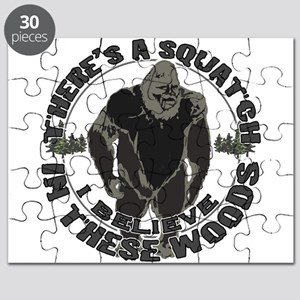 Believe in Bigfoot Puzzle