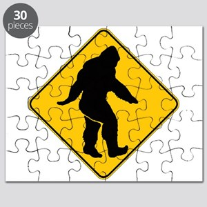 Bigfoot crossing Puzzle