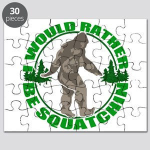Rather be Squatchin G Puzzle