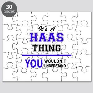 HAAS thing, you wouldn't understand! Puzzle