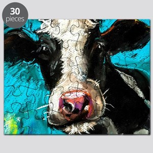 Cow Painting Puzzle