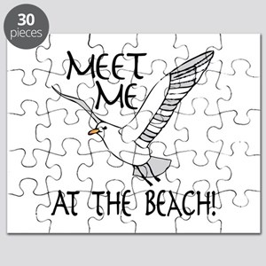 Meet Me At The Beach! Puzzle