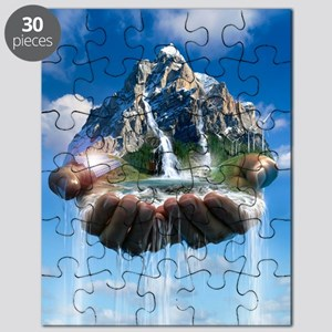 Environmental care, conceptual image Puzzle
