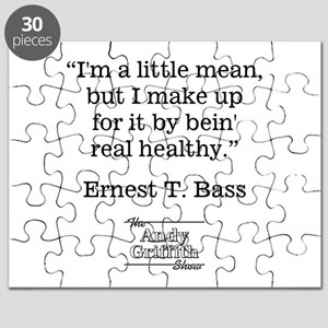 ERNEST T. BASS QUOTE Puzzle