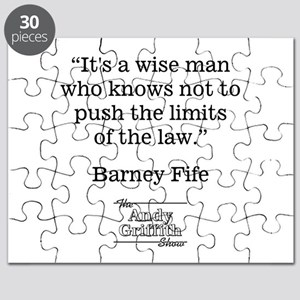 BARNEY FIFE QUOTE Puzzle