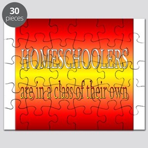 Homeschoolers are in a class of their own Puzzle