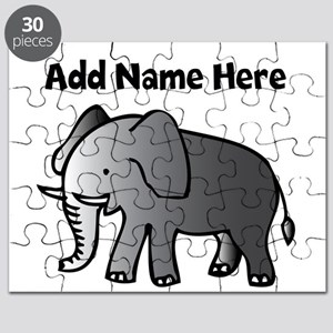 Personalized Elephant Puzzle