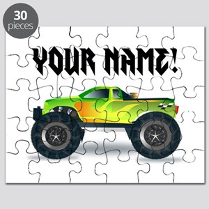 Personalized Monster Truck Puzzle