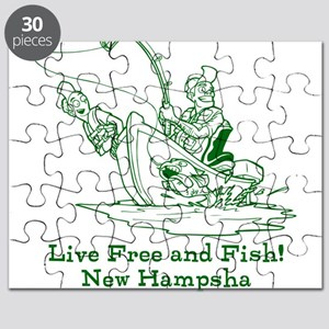 Live Free and Fish! New Hampsha Puzzle