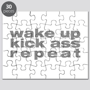 wake up kick ass repeat Puzzle