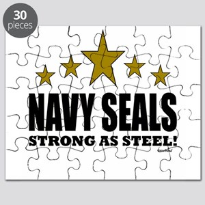 Navy Seals Strong As Steel Puzzle