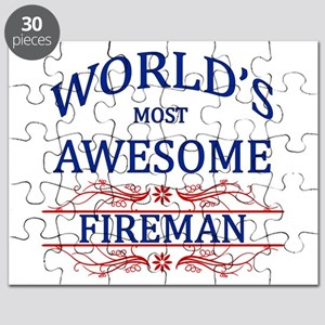 World's Most Awesome Fireman Puzzle