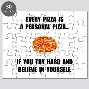 Personal Pizza Puzzle