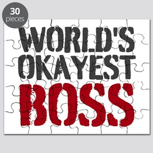 Worlds Okayest Boss Puzzle