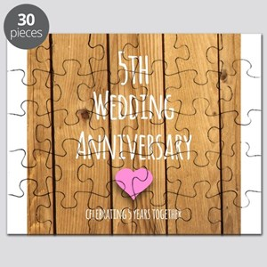 5th Wedding Anniversary Puzzle