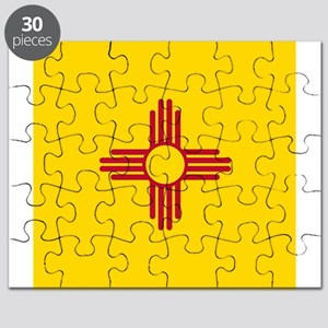 Flag of New Mexico Puzzle