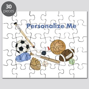 Personalized Sports Puzzle