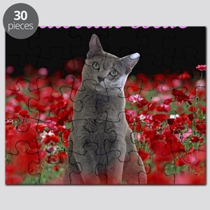 russian blue for Tote bag Puzzle