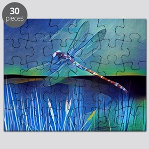 Dragonfly Pond Puzzle