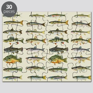 Freshwater Fish Chart Puzzle