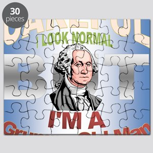 Grumpy Old Man Puzzle