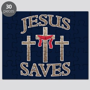 Jesus Saves Puzzle