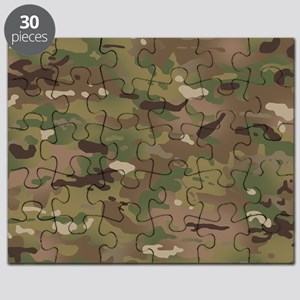 Military Camouflage Pattern Puzzle