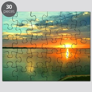 Sky High Sunset Puzzle