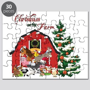 Christmas on the Farm Puzzle