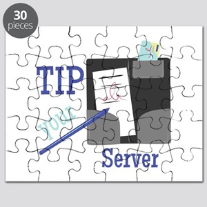 Tip Your Server Puzzle