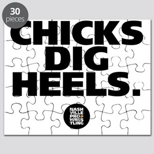 Chicks Dig Heels Puzzle