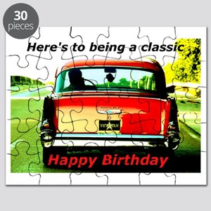 Being Classic Birthday Card Puzzle