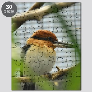 female Guam Micronesian Kingfisher Puzzle