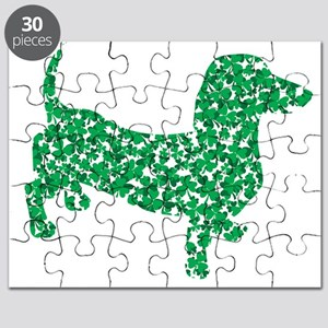 St. Patricks Day Dachshund Doxie Puzzle