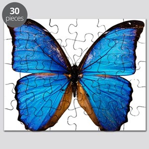 Animals Blue Butterfly Puzzle